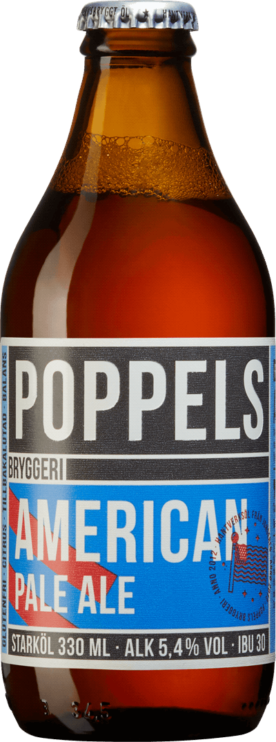 Poppels Bryggeri American Pale Ale | Systembolaget